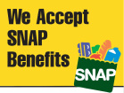Farmers market accepts EBT and SNAP benefits